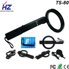 Low power consumption high detection accuracy handheld the Metal Detector machine TS-80