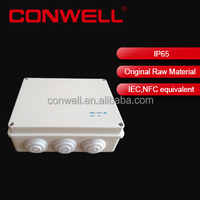 ABS electrical junction box with Cable Gland mcb waterproof enclosure