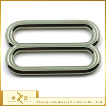 High quality nickel free zinc alloy 38mm belt slide buckle metal double buckle/adjustable buckle for bags