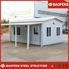 recycled prefabricated steel frame sandwich panel houses