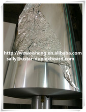 glossy silver aluminum foil paper,roll paper
