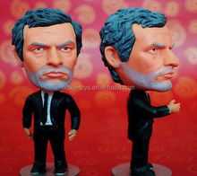 3D football action figures; custom plastic action figures;football player action figures toys