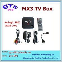 2014 best selling tv box android hd sex pron video mx3 android 4.4 smart tv box