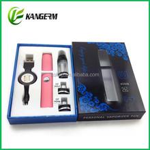 2014 Hottest selling e cigarette Free OEM beautiful wax vaporizer pen exgo w3