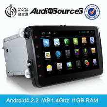 "8""Android car dvd player for VW golf with GPS navigation system/climate control/OPS/IPAS/parking senser/bluetooth/WIFI/3G/3D map"