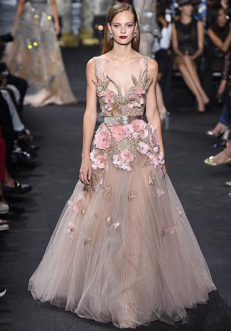 Floral Pregnant Evening Dress Beijing,Elie Saab Dress Of Evening ...