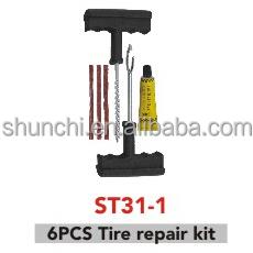6pcs tire repair kit,tire repair tool,car repair tool