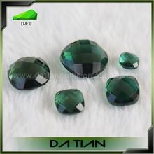 Natural white crystal/amethyst/citrine diamond moon olive crystal loose stone