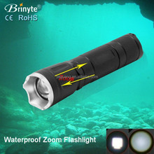 Red/Green/Blue Adjustable Zoom Light Torch