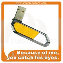 good quliaty, low price, logo branding, buckle usb flash disk, school gifts