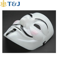 2015 Hot Selling Party Masks V for Vendetta Mask Anonymous Guy Fawkes Fancy Dress Adult Costume Accessory Party Cosplay Masks/