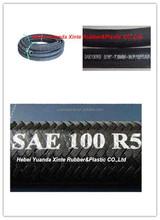Single wire braid SAE100R5 textile covered hydraulic hose