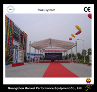 HaoWei used aluminum four chord and high duty truss
