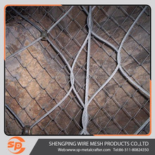 active slope protective wire mesh for rockfall fence