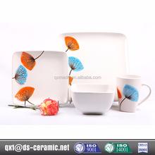 New design fashion low price fine china dinnerware