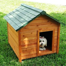 Factory best selling unfinished wood dog house
