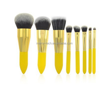 Professional Portable 8pcs makeup brush manufacturer