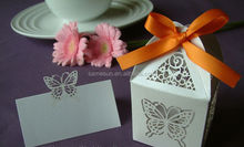 best price bride and groom wedding favor box new design