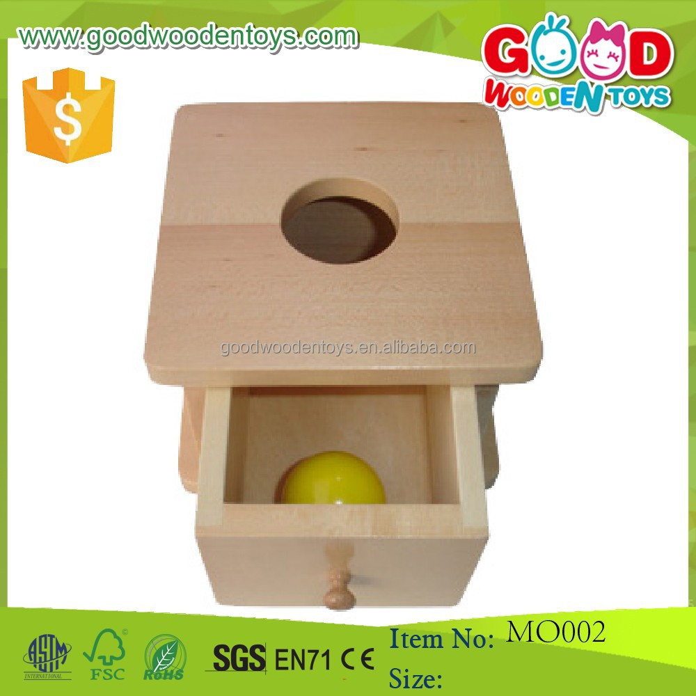 Educational Toys Product : Montessori inflant educational toys wooden