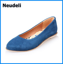 Sheepskin Leather 2015 Women Flat Shoes Spring&Summer casual shoes Fashion Cozy Loafers