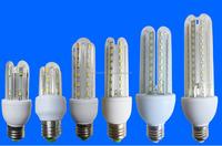 U shape LED energy saving 3w 4w 5w 6w 7w 8w 9w 10w 12w 15w 18w 16w 20w 23w 24w e27 led corn lamp bulb