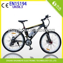2014 new design for children mountain electric bike A6