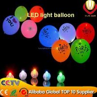2015 newest design party decoration alibaba express top ten supplier luminous neon flashing led balloon light/led balloon