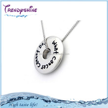 Wholesale laser engraving islam necklace pendant