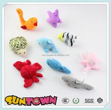 plush mini animal toys,plush sea animal set toys,baby toys