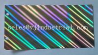 custom BOPP holographic lamination film for packing