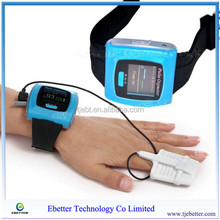 New Design Ebetter Wearable Digital Wrist Pulse Oximeter with CE and FDA