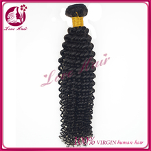 can be dyed and bleached to any color 7A virgin brazilian model model hair fashion
