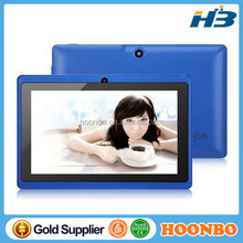 """7 inch Android4.4 3000mAh Battery Tablet PC WiFi Quad Core 1.5GHz DDR3 1GB ROM 8GB Q88 A33 7""""HD1024x600pixels Two Camera"""