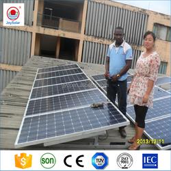 Solar street light mono / poly solar module 150W mono solar panel