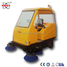 Storage battery operated carbon brushes sweeper car manufacturer