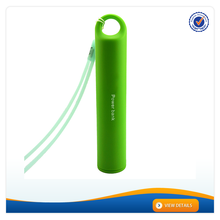 AWC053 Private Handle Design More than 500 Times Cycles Rechargeable Power Bank 2400mAh Mobile Power Bank Made in China