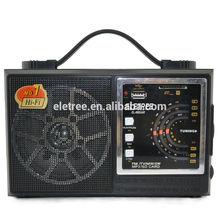 Am fm radio portable EL-998UAR retro radio venta con precios baratos