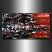 Hot sale modern geometrical abstract oil painting