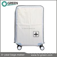 White PVC plastic cover luggage wheel cover