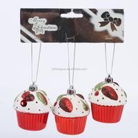 promotional artificial popular polystyrene decorative glitter birthday 3d cake decoration