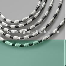 Diamond Wire Saw for Granite, Marble, Stone mine, Machine tools cutting beads diamond wire saw for quarry stone