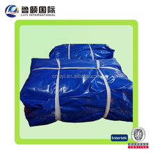Supplier Of Fabric All Blue Multi-Purpose Waterproof Poly Tarp Boat Cover Tarpaulin for Camping Tent Shelter Shade