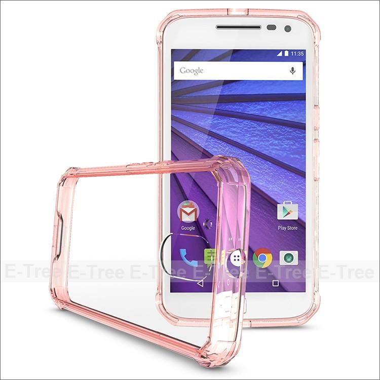 gsoft TPU phone back cover case for Motorola G4 Plus
