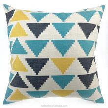 "18"" Saqure Geometric Pillow Case Decorative Throw Pillows Printed Home Decor Sofa Cushion Cover"
