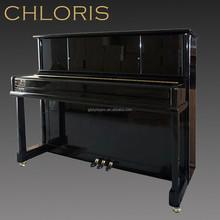 CHLORIS Vertical Black Uright Piano HU-110E