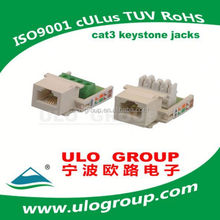 Top quality magnetic rj45 manufacturer ulo group -021