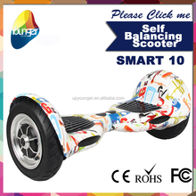 2015 newest product self balancing scooter with Bluetooth music function and mobile phone APP software