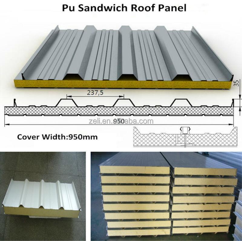 Polyurethane Sandwich Panel : Rigid polyurethane foam panel pu sandwich
