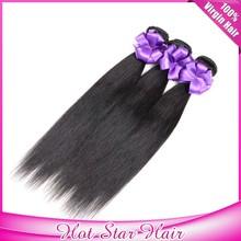 Virgin Hair Hot Selling Top Quality Unprocessed Straight Brazilian Hair Bundle Deals