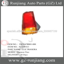 Daewoo LUZ TRASERA 35670A78B01-000 Fábrica China For Dawoo